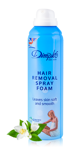 Spray Foam Dimples Depilatory